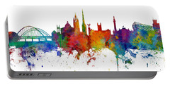 Newcastle England Skyline Custom Panoramic Portable Battery Charger