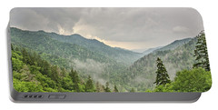 Newfound Gap In Great Smoky Mountains National Park Portable Battery Charger