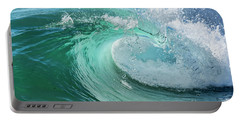 Newport Beach Wave Curl Portable Battery Charger