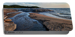 Portable Battery Charger featuring the photograph Neys Delta by Doug Gibbons