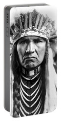 Nez Perce Native American - To License For Professional Use Visit Granger.com Portable Battery Charger
