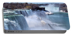 Niagara Falls Portable Battery Charger by Elizabeth Dow