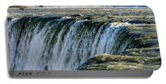 Niagara Falls In Autumn Portable Battery Charger