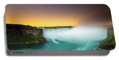 Niagara Falls  Portable Battery Charger by Mariusz Czajkowski