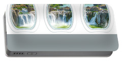 Niagara Falls Porthole Windows Portable Battery Charger