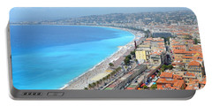 Nice France Coastline Portable Battery Charger
