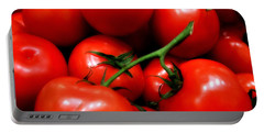 Portable Battery Charger featuring the photograph Nice Tomatoes Baby by RC DeWinter