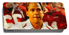 Nick Saban Roll Tide Two Portable Battery Charger