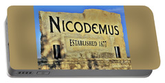 Nicodemus, 1877 Portable Battery Charger
