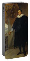 Nicolaes Van Der Borght, Merchant Of Antwerp Portable Battery Charger
