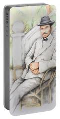 Nicolo Minca. 1908 Portable Battery Charger
