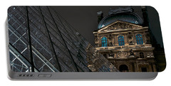 Night At The Louvre Portable Battery Charger