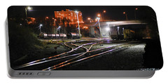 Night At The Railyard Portable Battery Charger
