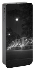 Night Bridge In December Portable Battery Charger