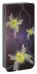 Night Butterflies Portable Battery Charger