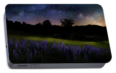 Portable Battery Charger featuring the photograph Night Flowers by Bill Wakeley
