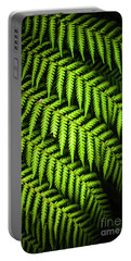 Night Forest Frond Portable Battery Charger