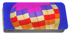 Night Glow At The Hot Air Balloon Festival Portable Battery Charger