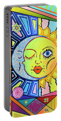 Night Kisses Daylight Portable Battery Charger by Jeremy Aiyadurai
