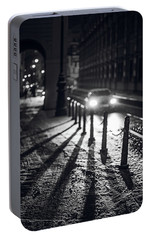 Portable Battery Charger featuring the photograph Night Lights. Prague by Jenny Rainbow