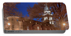 Night Lights St Anne's In The Circle Portable Battery Charger