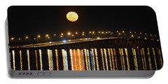 Portable Battery Charger featuring the photograph Night Of Lights by Gary Smith