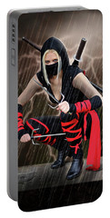Night Of The Ninja Portable Battery Charger