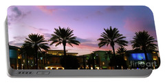 Night On The Town Palm Beach Florida Photo 515 Portable Battery Charger