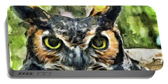 Night Owl Portable Battery Charger by Trish Tritz