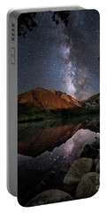 Portable Battery Charger featuring the photograph Night Reflections by Melany Sarafis