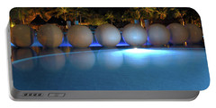 Portable Battery Charger featuring the photograph Night Resort by Shane Bechler