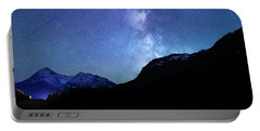 Night Sky In David Thomson Country Portable Battery Charger by Dan Jurak