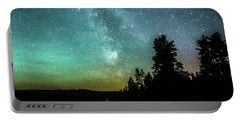 Night Sky Portable Battery Charger by Rose-Marie Karlsen