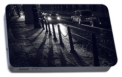 Portable Battery Charger featuring the photograph Night Street Of Prague by Jenny Rainbow