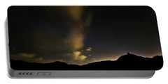 Night Time At Palo Duro Canyon State Park - Texas Portable Battery Charger
