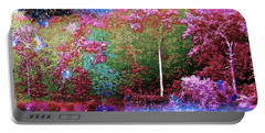 Night Trees Starry Lake Portable Battery Charger
