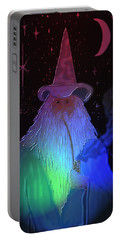 Night Wizard Portable Battery Charger by Kevin Caudill