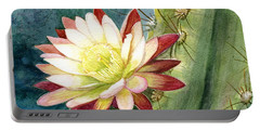 Nightblooming Cereus Cactus Portable Battery Charger