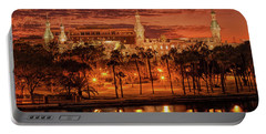 Nightfall In Tampa Portable Battery Charger
