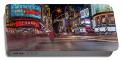 Portable Battery Charger featuring the photograph Nights On Broadway by Az Jackson