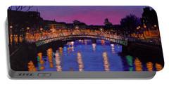 Nighttown Ha Penny Bridge Dublin Portable Battery Charger
