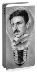 Nikola Tesla Portable Battery Charger