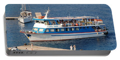 Nikos Express Ferry At Halki Portable Battery Charger
