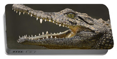 Nile Crocodile Portable Battery Charger