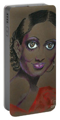 Nina Mae -- African-american Actress Portrait Portable Battery Charger