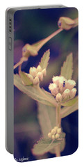 Nip It In The Bud Portable Battery Charger by Stefanie Silva
