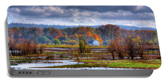 Nisqually Wildlife Refuge P34 Portable Battery Charger by David Patterson