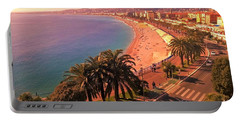 Nizza By The Sea Portable Battery Charger