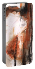 Portable Battery Charger featuring the painting The Horse Within  by Frances Marino