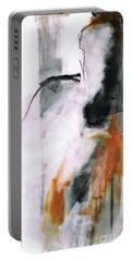 Portable Battery Charger featuring the painting Nm Sketch Two by Frances Marino